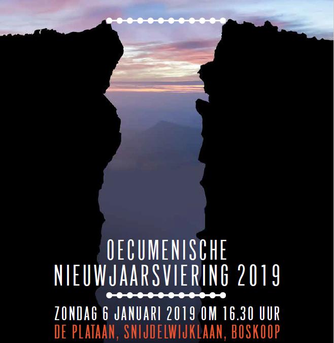Oecumenische Nieuwjaarsviering 2019